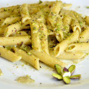 ricetta pennette al pistacchio di bronte sciara